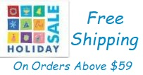 Free Shipping On All Orders Above $59