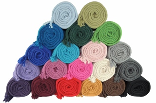 Kakaos Solid Color Yoga Blankets