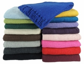 Solid Color Yoga Blankets 3.8 lbs