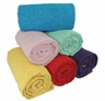 Single or solid color yoga blanket
