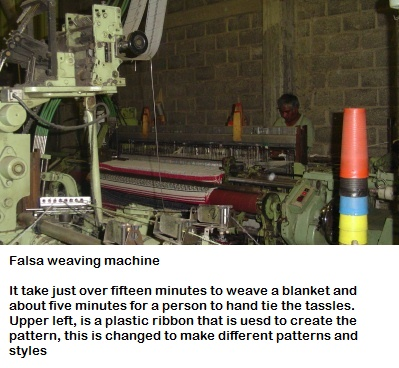 Traditional Mexican Blanket Manufacturing Machine