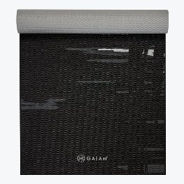 Gaiam Premium Midnight Yoga Mat 6mm