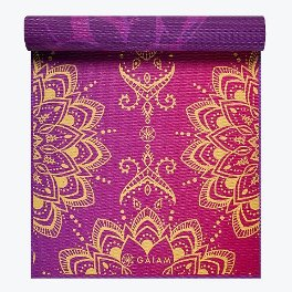 Gaiam Reversible Royal Bouquet Yoga Mat
