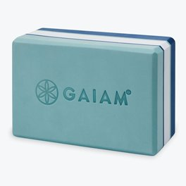Gaiam Premium Tri Color Yoga Blocks