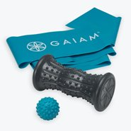 Gaiam Treat Your Feet Hot  Cold Foot Massager