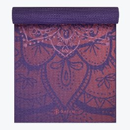 Gaiam Premium Metallic Athenian Rose Yoga Mat 6mm
