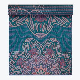 Gaiam 6mm Reversible Jade Salutation Yoga Mat
