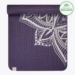 Gaiam Metallic Medallion Yoga Mat (6mm)