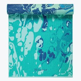 Gaiam River Roots Reversible Yoga Mat (6MM)