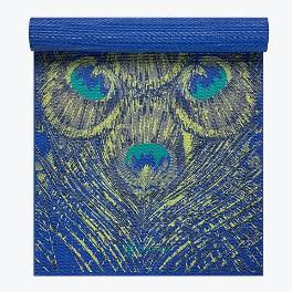 Gaiam Premium Sapphire Feather Yoga Mat 6mm