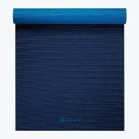 Gaiam Premium Longer Wider 2 Color Yoga Mats (5mm)