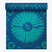 Gaiam Reflection Reversible Yoga Mat (5mm)  blue