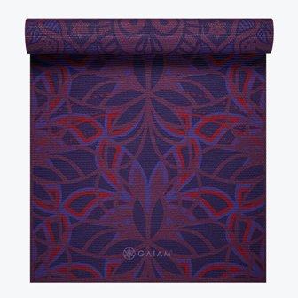 Product Detail Gaiam Divinity Reversible Yoga Mat 6mm Gaiam Mats Gai Ymdr 2400