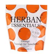 Herban Essentials	7 Individuall  Wrapped Orange Towelettes