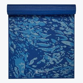 Gaiam Premium Coastal Blue Yoga Mat 6mm