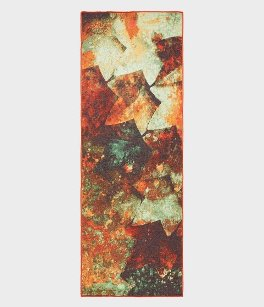 "YogiToes rSkidless Yoga Mat Towel ""Patina Wall"""