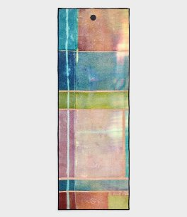 "YogiToes rSkidless Yoga Mat Towel ""Stained Glass"""